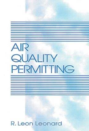 Air Quality Permitting: 1st Edition (Hardback) book cover
