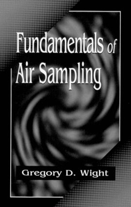Fundamentals of Air Sampling: 1st Edition (Hardback) book cover