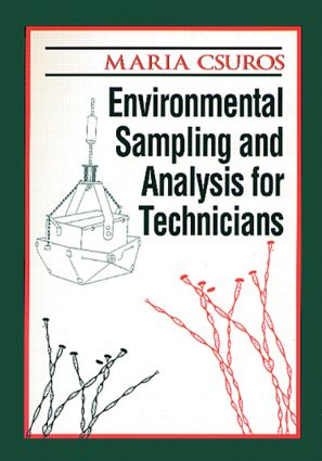 Environmental Sampling and Analysis for Technicians: 1st Edition (Paperback) book cover