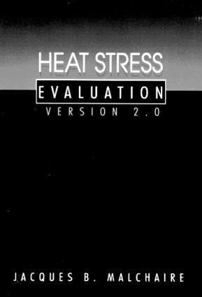 Heat Stress EvaluationVersion 2.0: 1st Edition (CD-ROM) book cover