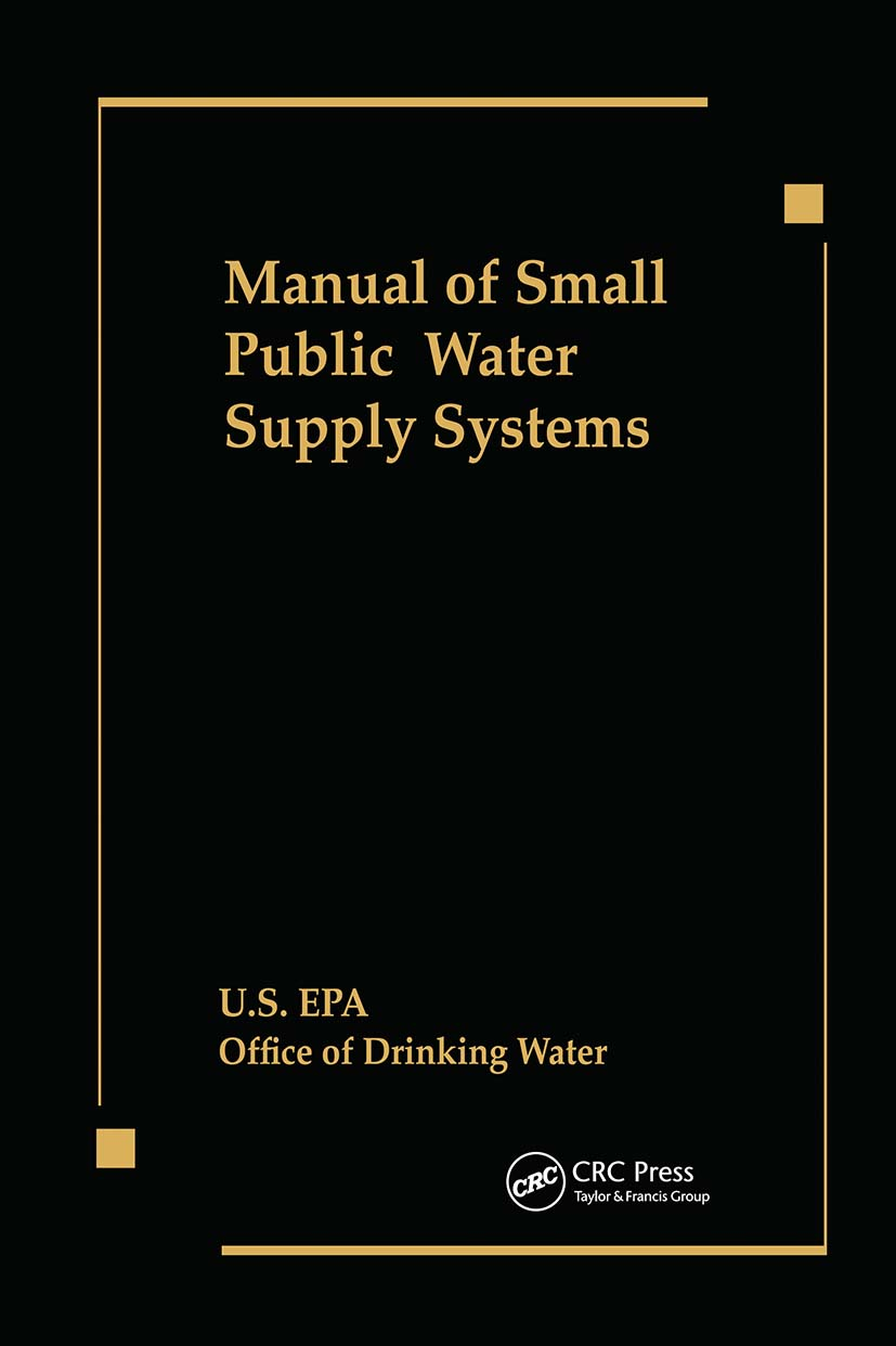 Manual of Small Public Water Supply Systems: 1st Edition (Hardback) book cover