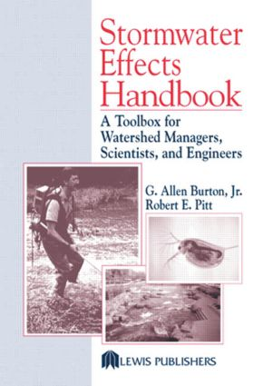Stormwater Effects Handbook: A Toolbox for Watershed Managers, Scientists, and Engineers, 1st Edition (Hardback) book cover