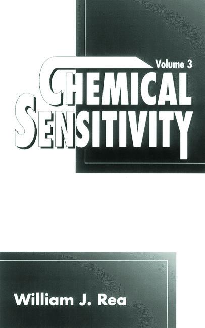 Chemical Sensitivity: Clinical Manifestation, Volume III, 1st Edition (Hardback) book cover