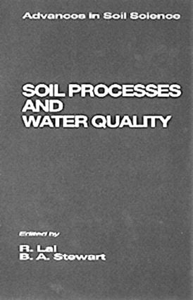 Soil Processes and Water Quality: 1st Edition (Hardback) book cover