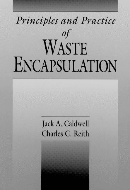 Principles and Practice of Waste Encapsulation: 1st Edition (Hardback) book cover