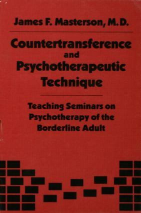 Countertransference and Psychotherapeutic Technique: Teaching Seminars (Hardback) book cover