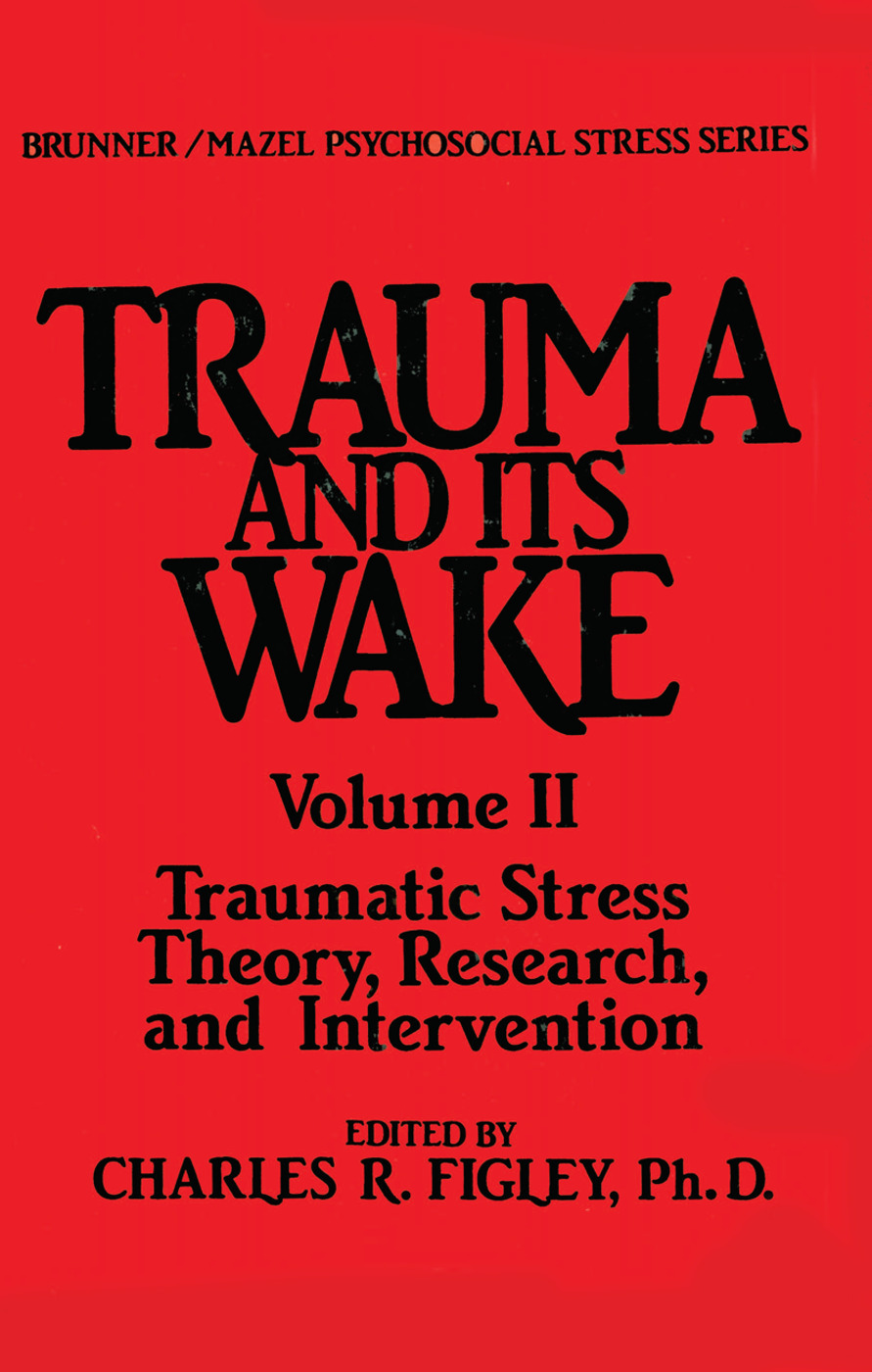 Trauma And Its Wake book cover