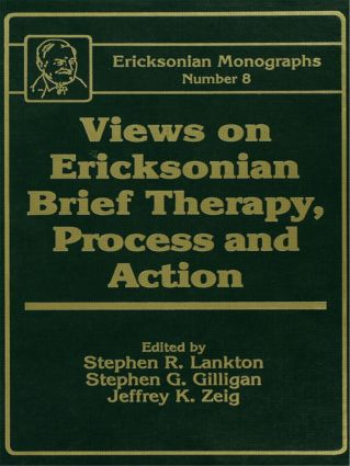 Views On Ericksonian Brief Therapy (Hardback) book cover