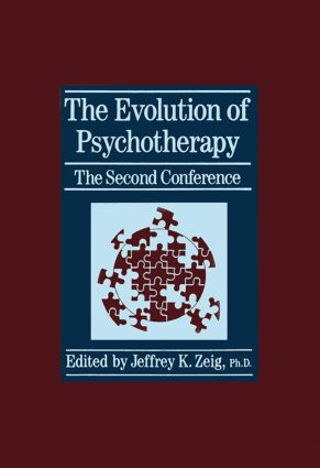 The Evolution Of Psychotherapy: The Second Conference (Hardback) book cover
