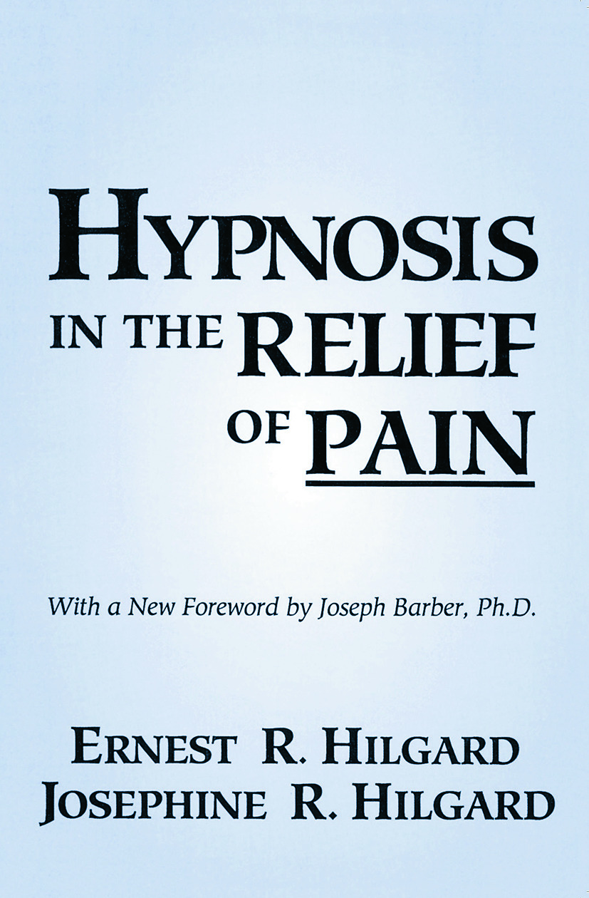 Hypnosis In The Relief Of Pain: 1st Edition (Paperback) book cover