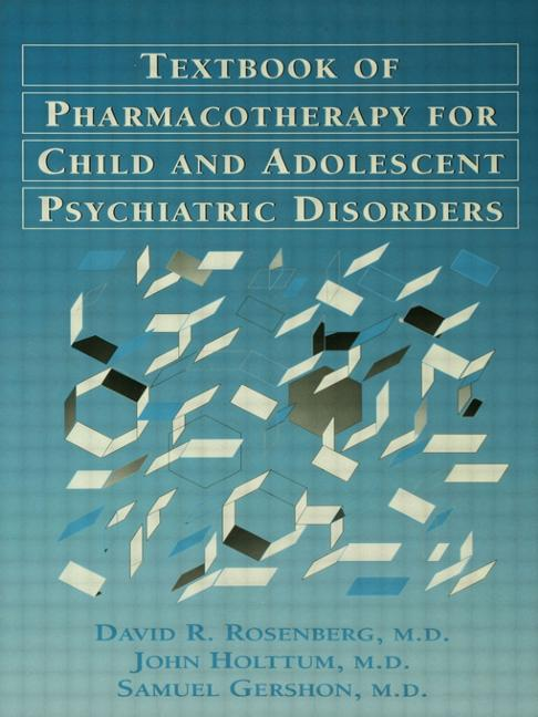 Pocket Guide For The Textbook Of Pharmacotherapy For Child And Adolescent psychiatric disorders: 1st Edition (Hardback) book cover