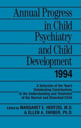 Annual Progress in Child Psychiatry and Child Development 1994 (Hardback) book cover