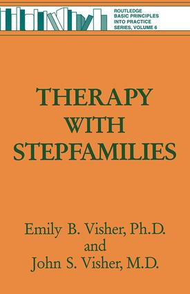 Therapy with Stepfamilies (Paperback) book cover
