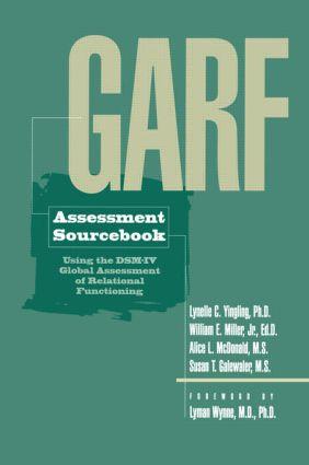 GARF Assessment Sourcebook (Hardback) book cover