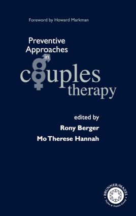 Preventive Approaches in Couples Therapy: 1st Edition (Hardback) book cover