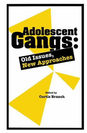 Adolescent Gangs: Old Issues, New Approaches, 1st Edition (Paperback) book cover