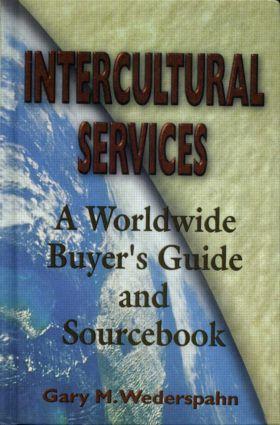 Intercultural Services: 1st Edition (Hardback) book cover