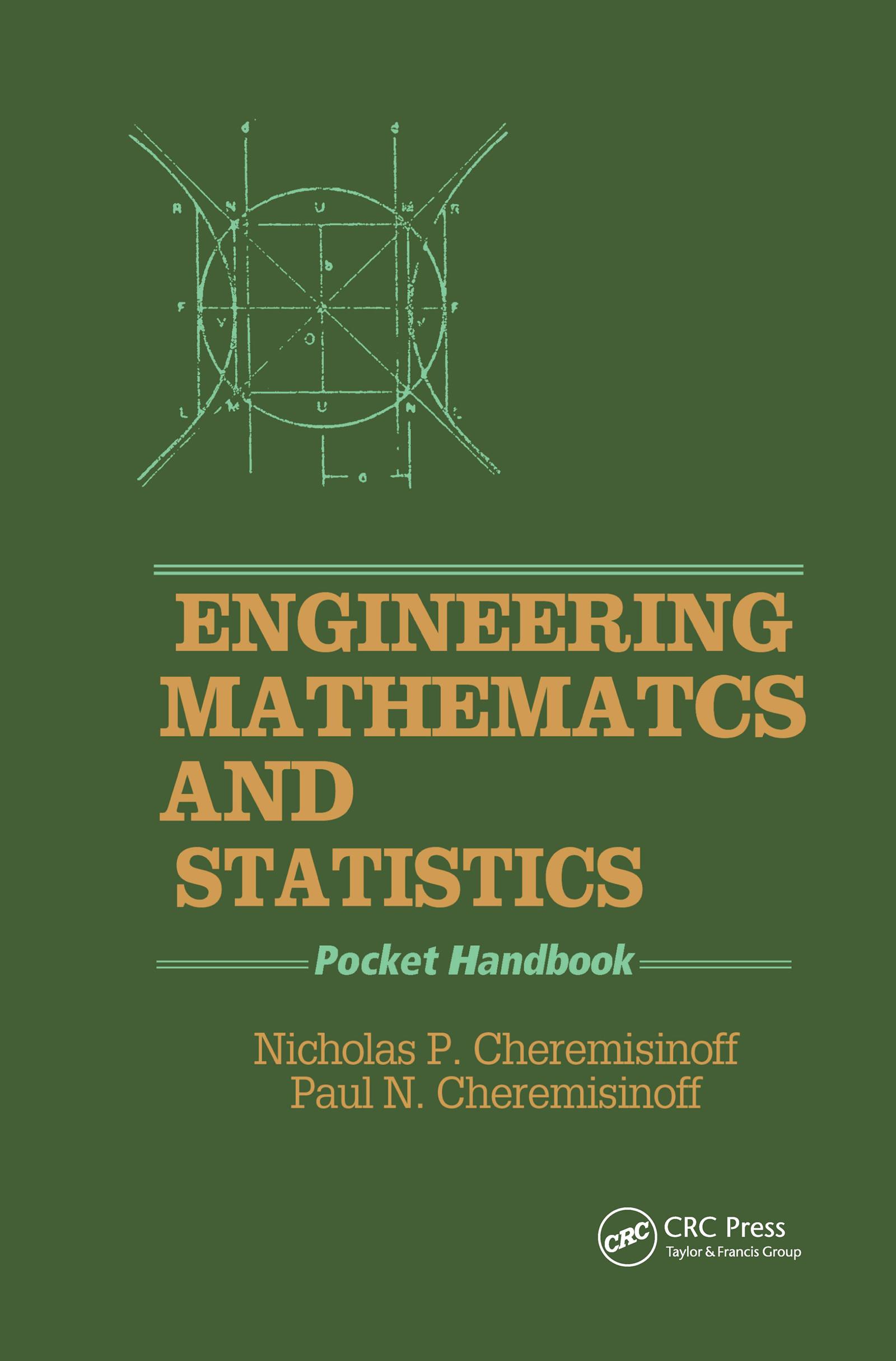 Engineering Mathematics and Statistics: Pocket Handbook, 1st Edition (Hardback) book cover