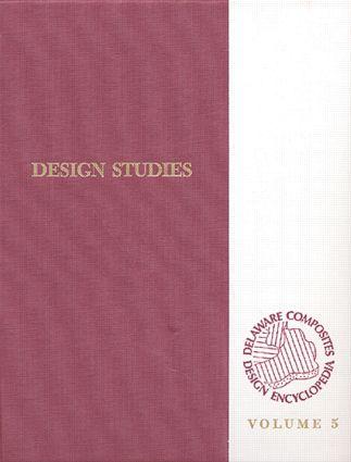 Delaware Composites Design Encyclopedia: Design Studies Volume V, 1st Edition (Hardback) book cover