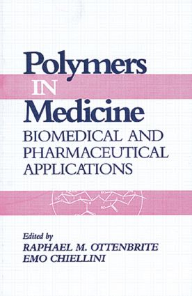 Polymers in Medicine: Biomedical and Pharmaceutical Applications, 1st Edition (Hardback) book cover