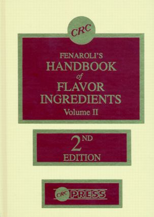 Handbook of Flavor Ingredients, Volume II: 2nd Edition (Hardback) book cover