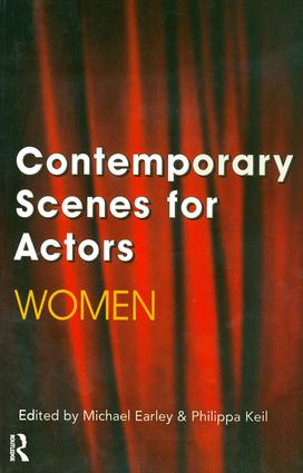 Contemporary Scenes for Actors: Women, 1st Edition (Paperback) book cover