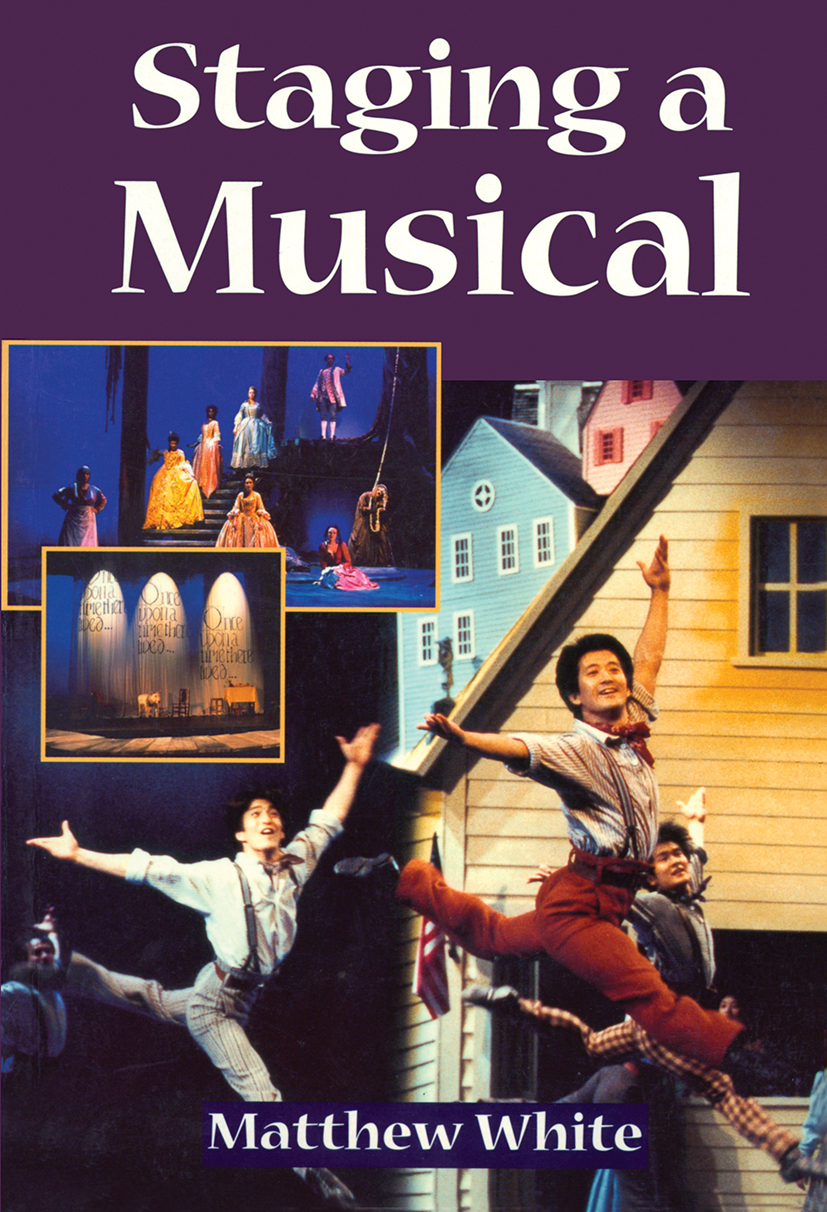 Staging A Musical: 1st Edition (Paperback) book cover
