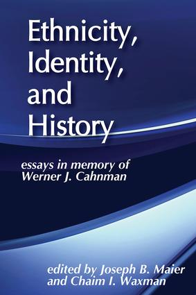 Werner J. Cahnman: An Introduction to His Life and Work
