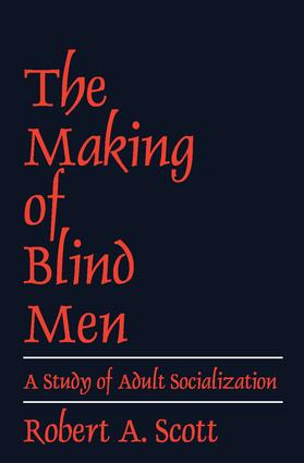 The Making of Blind Men: 1st Edition (Paperback) book cover