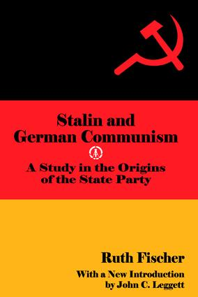 Stalin and German Communism