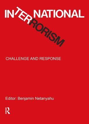 International Terrorism: Challenge and Response, 1st Edition (Paperback) book cover