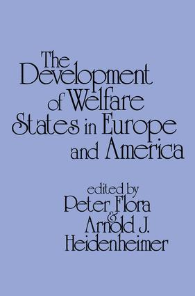 Development of Welfare States in Europe and America: 1st Edition (Paperback) book cover