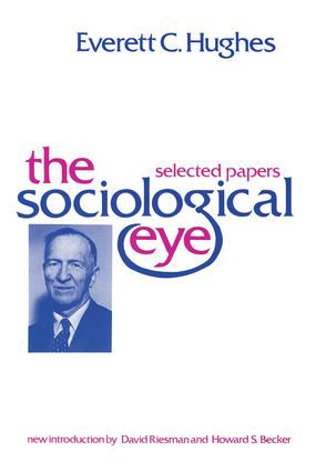 The Sociological Eye: 1st Edition (Paperback) book cover
