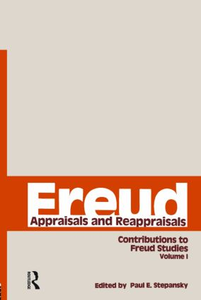 Freud, V.1: Appraisals and Reappraisals (Hardback) book cover
