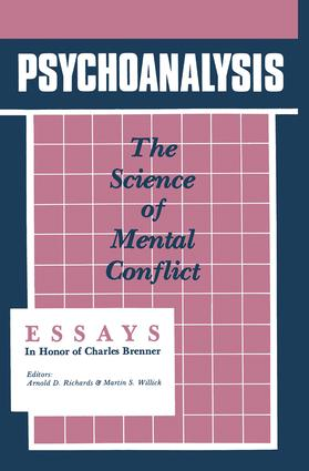 Psychoanalysis: The Science of Mental Conflict (Hardback) book cover