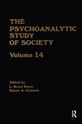 The Psychoanalytic Study of Society, V. 14: Essays in Honor of Paul Parin (Hardback) book cover