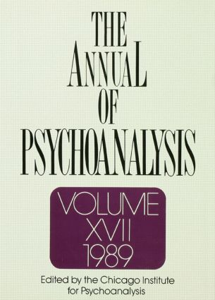 The Annual of Psychoanalysis, V. 17: 1st Edition (Hardback) book cover