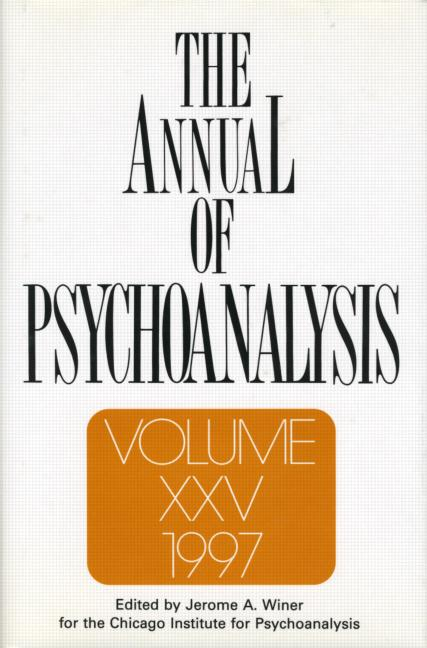 The Annual of Psychoanalysis, V. 25: 1st Edition (Hardback) book cover