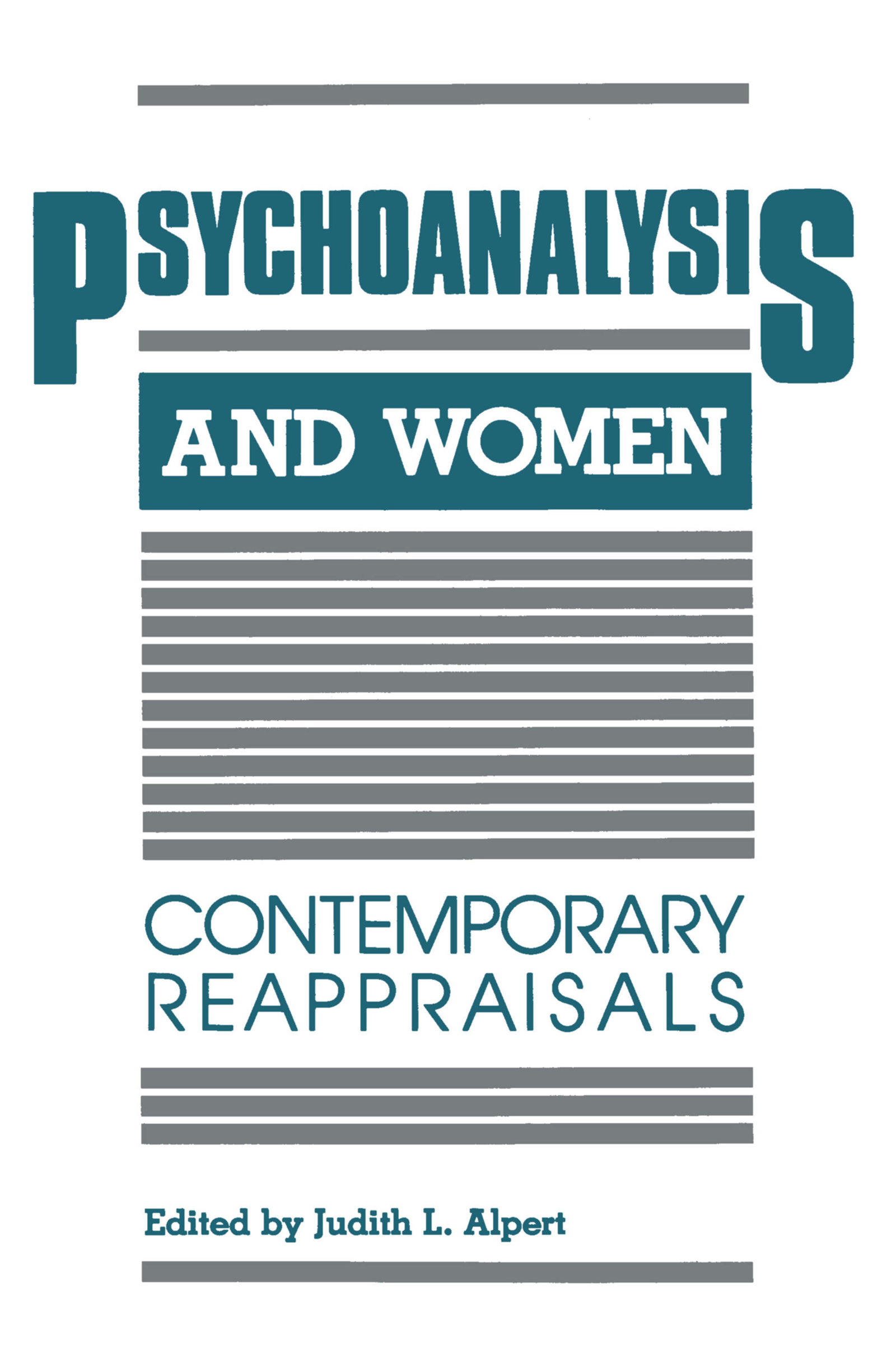 Psychoanalysis and Women: Contemporary Reappraisals, 1st Edition (Paperback) book cover