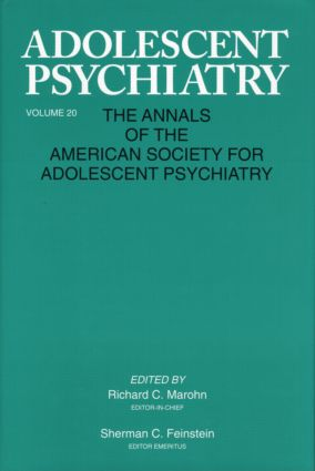Sherman C. Feinstein, M.D.: Editor, Adolescent Psychiatry, 1973 to 1994
