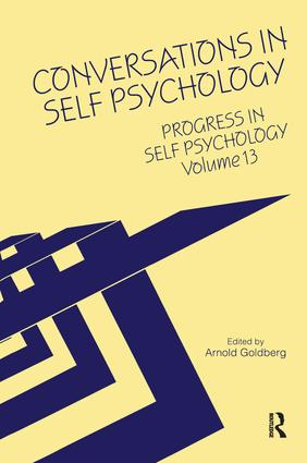 Progress in Self Psychology, V. 13: Conversations in Self Psychology (Hardback) book cover