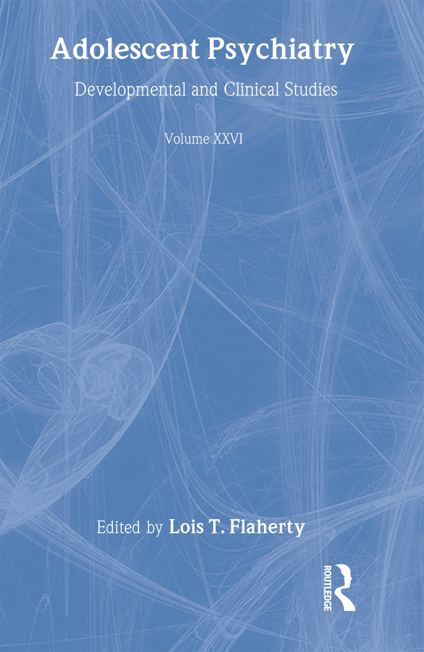 Adolescent Psychiatry, V. 26: Annals of the American Society for Adolescent Psychiatry (Hardback) book cover