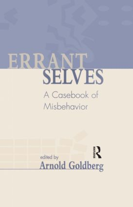 Errant Selves: A Casebook of Misbehavior (Hardback) book cover