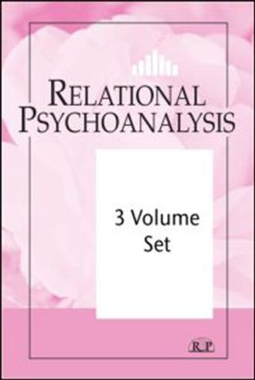 Relational Psychoanalysis 3 Volume Set (Paperback) book cover