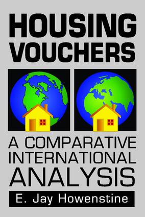 Housing Vouchers: A Comparative International Analysis, 1st Edition (Paperback) book cover