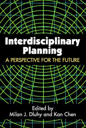Interdisciplinary Planning: 1st Edition (Paperback) book cover
