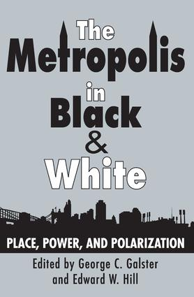 The Metropolis in Black and White: Place, Power and Polarization, 1st Edition (Paperback) book cover