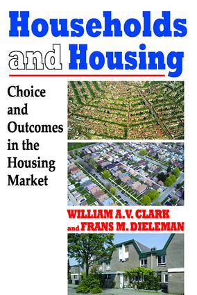 Households and Housing: Choice and Outcomes in the Housing Market, 1st Edition (Paperback) book cover