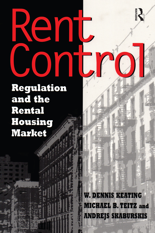 Rent Control in North America and Four European Countries