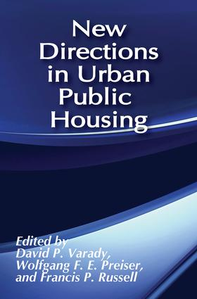 New Directions in Urban Public Housing: 1st Edition (Paperback) book cover